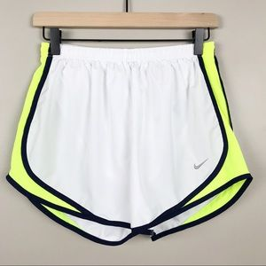 Nike Dri-FIT White Size Medium Running Shorts